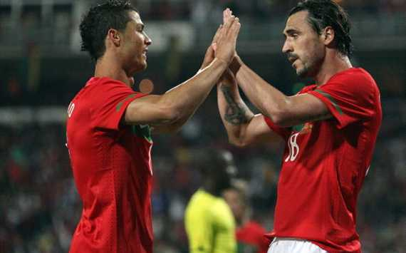 Almeida: Cristiano Ronaldo is the best player in the world and Portugal can shine at Euro 2012