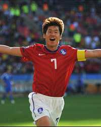 Park Ji-Sung, South Korea vs Greece (Getty Images)