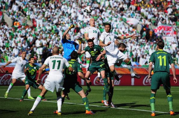 مباراة الجزائر سلوفينيا العالم 2010