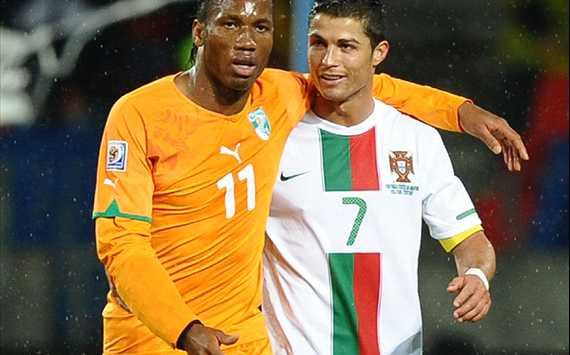 لقاء البرتغال ساحل العاج