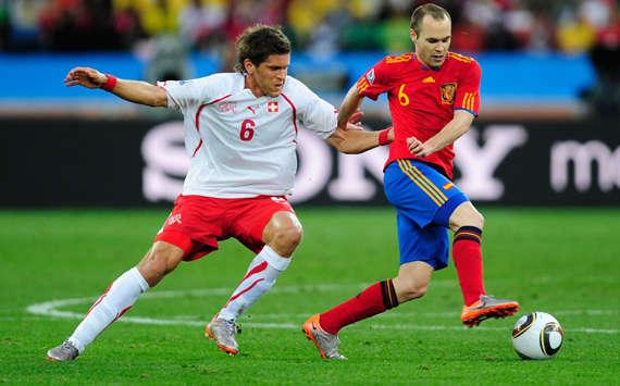 لقاء أٍسبانيا سويسرا