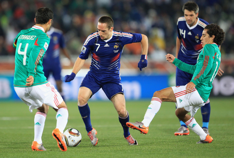 Resultado de imagen para México vs Francia mundial 2010