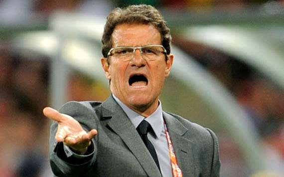 2010 FIFA World Cup,Fabio Capello England Vs Algeria (Getty Images)