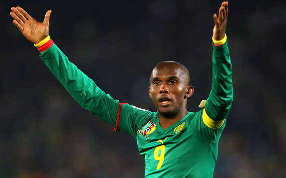 FIFA World Cup 2010 - Cameroon vs Denmark, Samuel Eto'o (Getty Images)