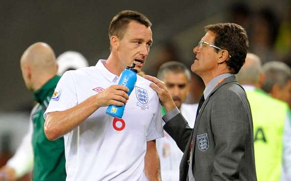 John Terry & Fabio Capello, England (Getty Images)
