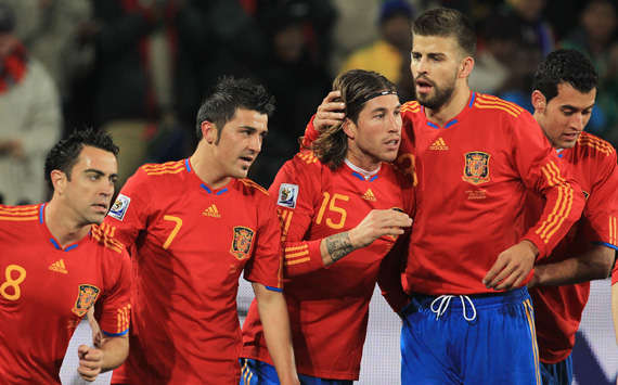 Jersey Spanyol (Getty Images)