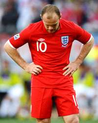 WC 2010: Wayne Rooney - England  - Slovenia (Getty Images)