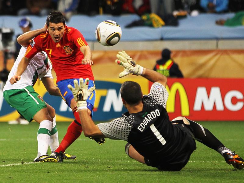 Espana Alcanzo Los Octavos De Final Del Mundial De Sudafrica Despues De Las Dudas Suscitadas Durante La Fase De Grupos Pero Pese A Que El Juego De La Roja