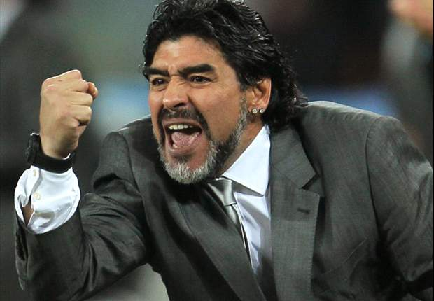 World Cup 2010: Diego Maradona Mocks Bastian Schweinsteiger In A German Accent