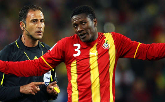 World Cup 2010 - Uruguay vs Ghana, Asamoah Gyan(Getty Images)