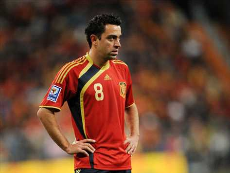 Spain's Xavi Set To Return Early From His Vacation And Play Against Mexico
