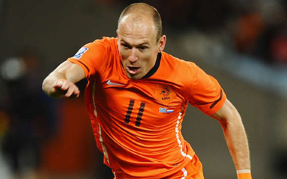 World Cup 2010: Netherlands Star Arjen Robben Not Pleased With Referee Howard Webb