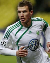 Edin Dzeko - Wolfsburg (Getty Images)