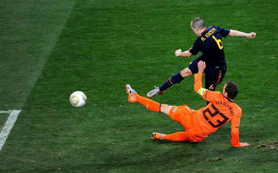 World Cup 2010 Comment: Lest You Forget, It Was Andres Iniesta Who Won The World Cup For Spain