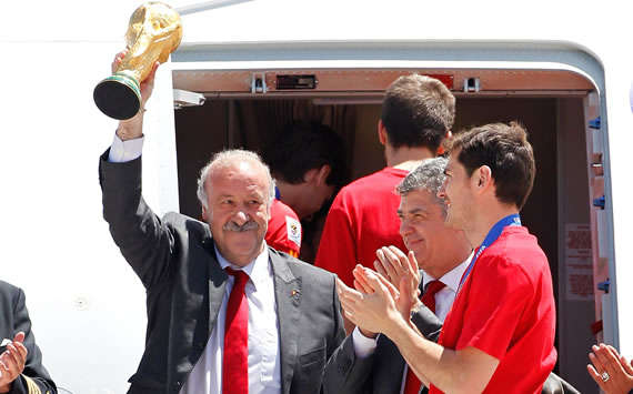 Vicente Del Bosque, Iker Casillas, Spain (Getty Images)
