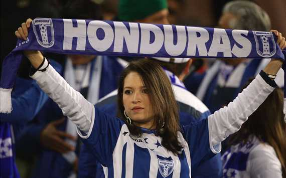 2010 FIFA World Cup,A Honduras fan enjoys the atmosphere,Switzerland v Honduras(Getty Images)