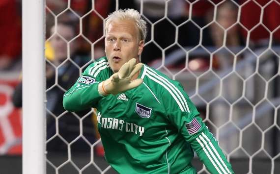 Jimmy Nielsen, Kansas City Wizards, MLS (Getty)