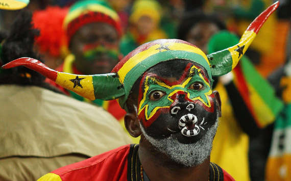 WC 2010 - Ghana Fan(Getty Images)