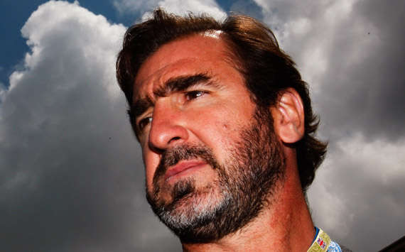 Former Manchester United and French international footballer Eric Cantona (Getty Images)