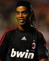 Ronaldinho - Milan (Getty Images)