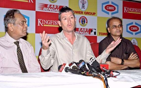 East Bengal coach Trevor Morgan aiming for all three points against Arbil SC