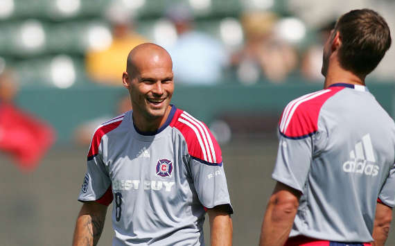 Freddie Ljungberg, Brian McBride, Chicago Fire, MLS (Getty Images)