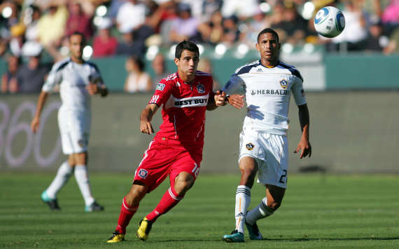 Sean Franklin, Los Angeles Galaxy; Marco Pappa, Chicago Fire; MLS (Getty Images)