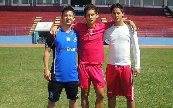 Irfan Bachdim, Kim Jeffrey Kurniawan, Alessandro Trabucco (GOAL.com)