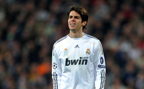Real Madrid Playmaker Kaka Returns To Outdoor Training