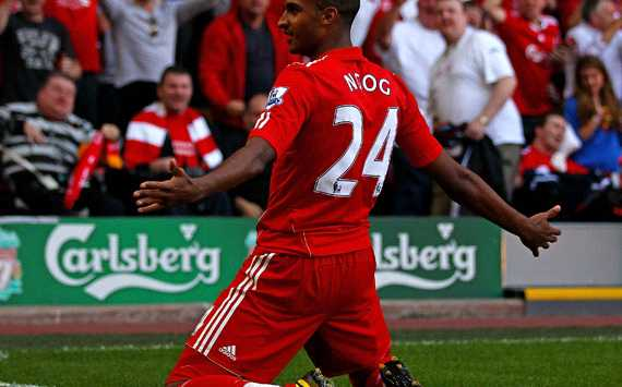 EPL : David Ngog of Liverpool  (Getty Images) 