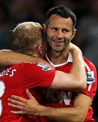 Paul Scholes & Ryan Giggs, Manchester United (Getty Images)