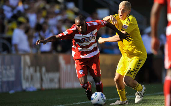 Jackson Goncalves, FC Dallas; Steven Lenhart, Columbus Crew; MLS (Getty Images)