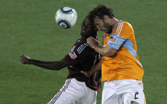 Omar Cummings, Colorado Rapids; Eddie Robinson, Houston Dynamo; MLS (Getty Images)