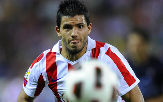 Kun Agüero, Atletico Madrid (Getty Images)