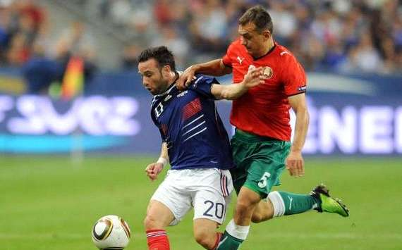 Euro 2012 : Mathieu Valbuena (France vs Belarus) - (Panoramic)