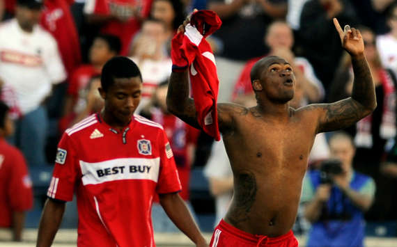 Collins John, Mike Banner, Chicago Fire, MLS (Getty Images)