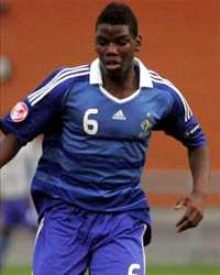 Paul Pogba (France Under 17) - (Panoramic)
