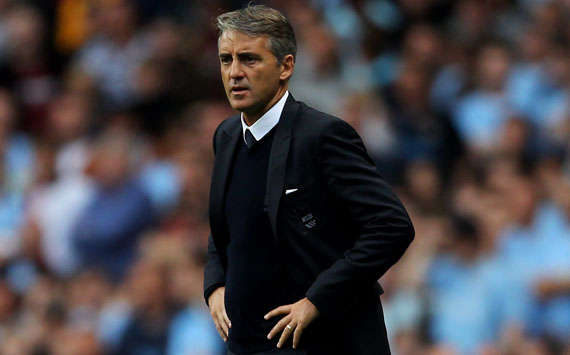 Roberto Mancini, Manchester City (Getty Images)