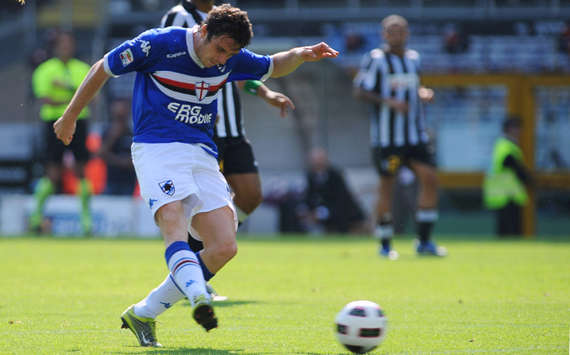 Nicola Pozzi - Juventus-Sampdoria - Serie A (Getty Images)
