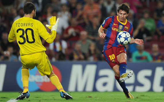 Champions: Lionel Messi, Barcelona, Panathinaikos (Getty Images)