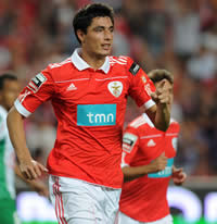 Orcar Cardozo - Benfica FC (Getty Images)