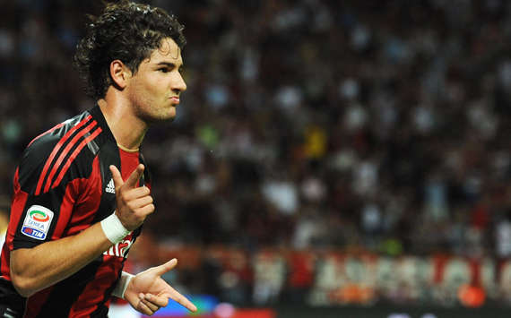 Milan To Sell Alexandre Pato To Manchester City For €65 Million & Buy Liverpool's Steven Gerrard & Palermo's Javier Pastore With The Cash - Reports