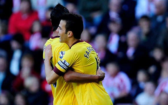 Cesc Fabregas, Arsenal, Barclays Premier League (Getty images)