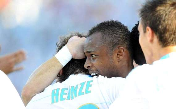 Ligue 1 : Andre Ayew (Olympique de Marseille) - (Panoramic)