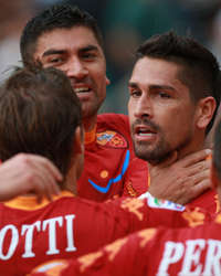 Marco Borriello - Roma-Bologna - Serie A (Getty Images)