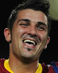 David Villa, Barcelona (Getty Images)