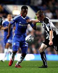 Carling Cup, Chelsea vs Newcastle United, Daniel Sturridge and Shane Ferguson (Getty Images)