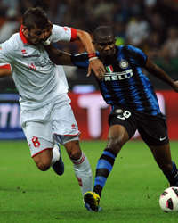 Eto'o & Donati - Inter-Bari - Serie A (Getty Images)