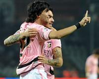 Pastore esulta dopo la rete in Juventus-Palermo (Getty Images)