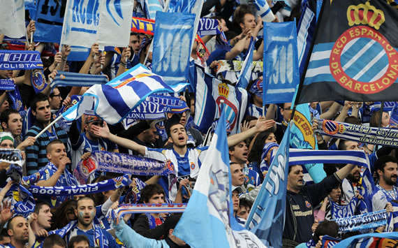 Espanyol fans, Liga BBVA Spain (Getty Images)